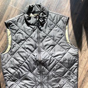 Black j crew vest